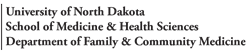 UND Family and Community Medicine logo